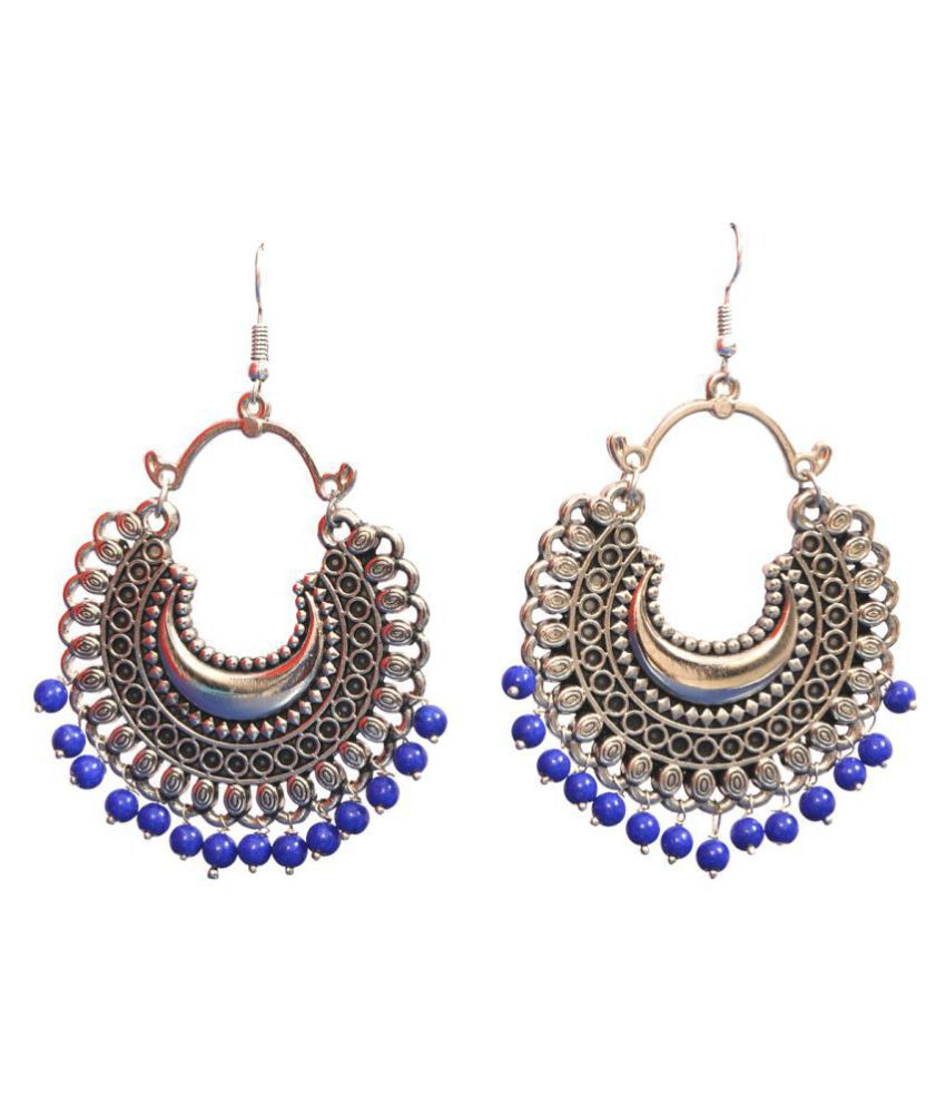 AFGAN EARRING BLUE