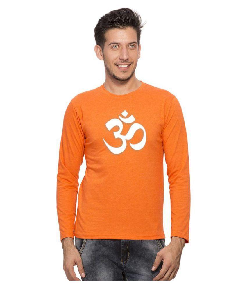 clifton Orange Round T-Shirt