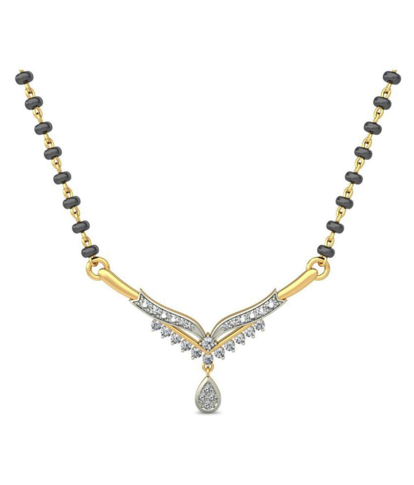 jewelsnext 18k Yellow Gold Mangalsutra