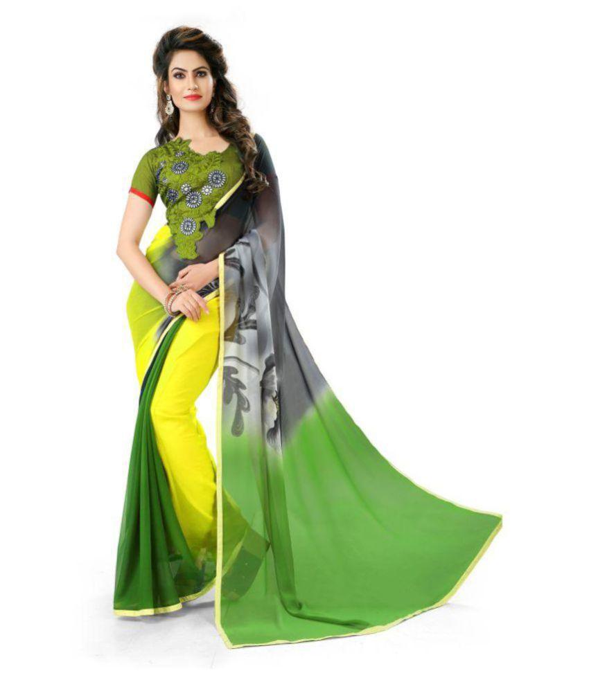 Mavani Multicoloured Bangalore Silk Saree
