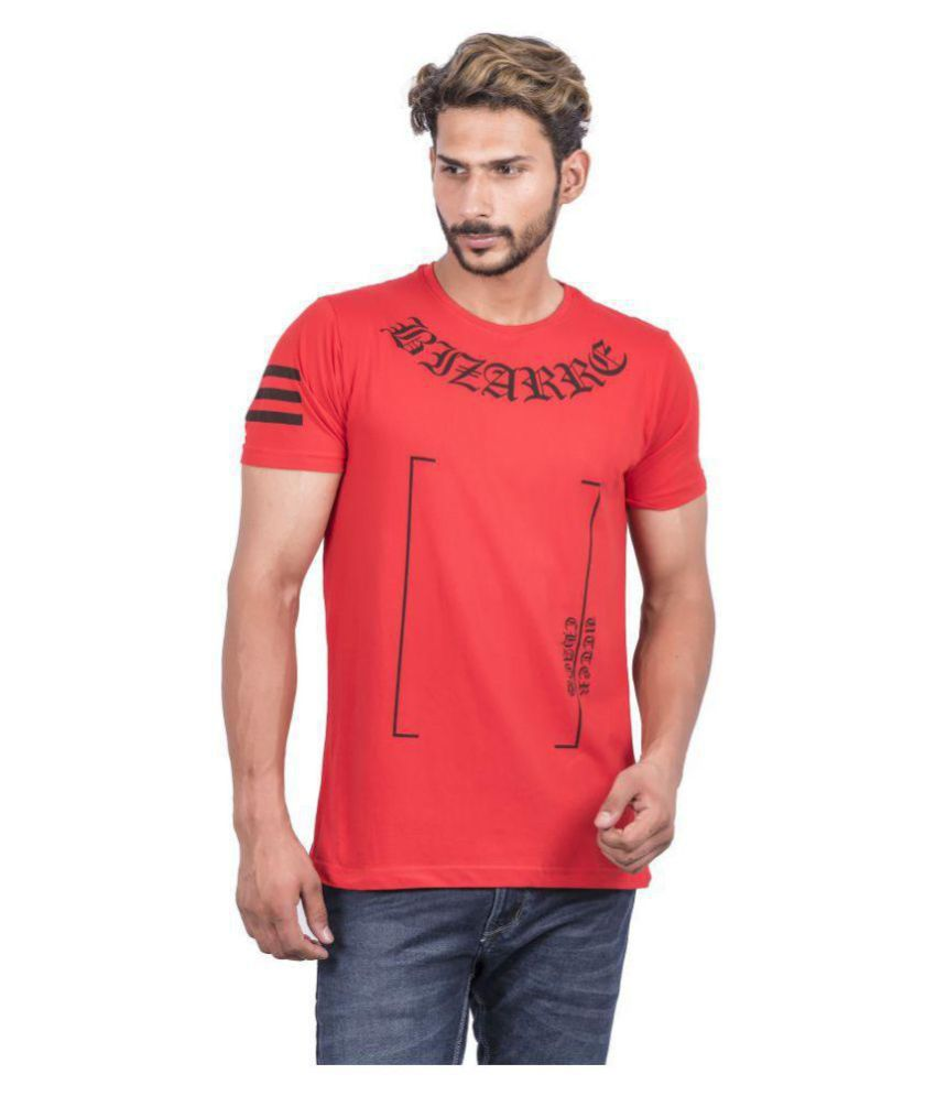 Urban Age Clothing Co. Red Round T-Shirt