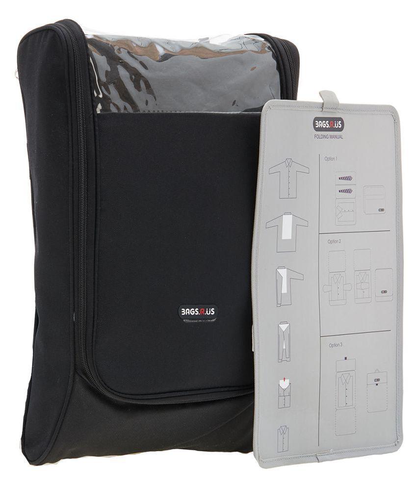 BagsRus Black Apparel Covers - 1 Pc