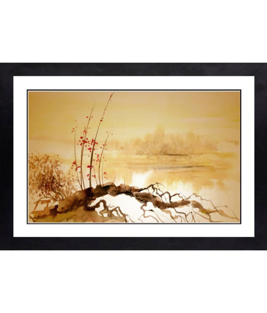 CRAFTSFEST MODERN ART MDF Painting With Frame