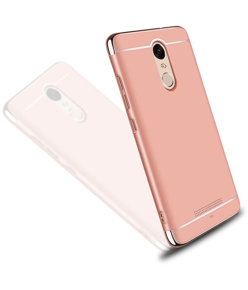 Xiaomi Redmi Note 4x Plain Cases Beingstylish Rose Gold