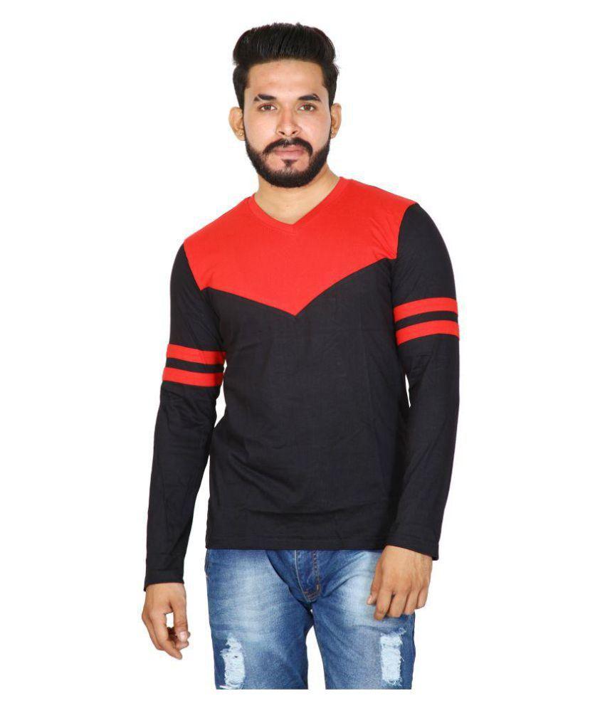 BYC Black V-Neck T-Shirt