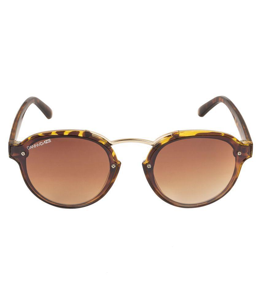 Danny Daze Brown Round Sunglasses ( D-2543-C3 )