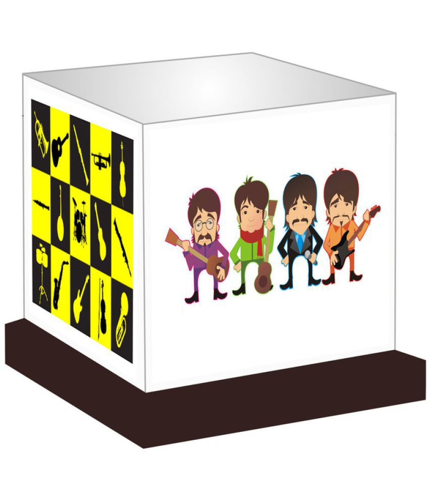 Unique Indian Crafts Beatles Night Lamp Multi - Pack of 1
