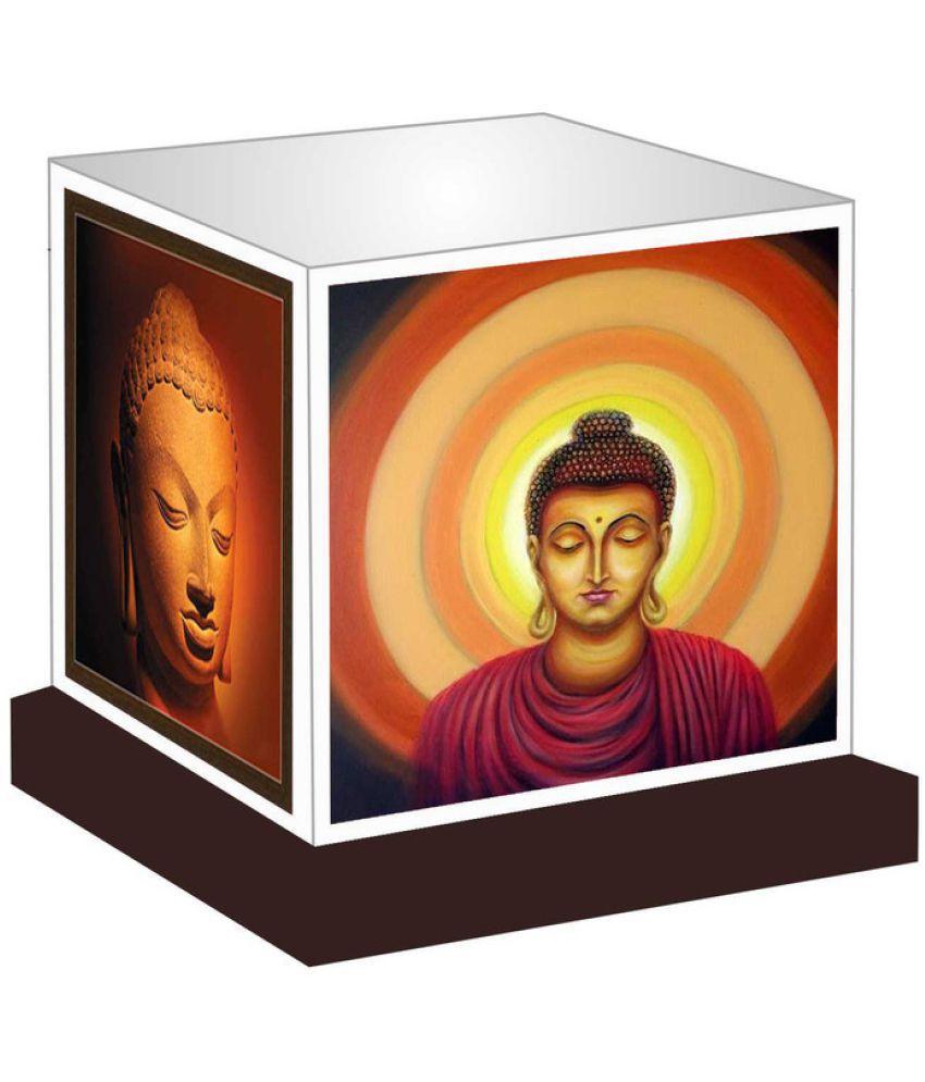 Unique Indian Crafts  Gautam Buddha Night Lamp Multi - Pack of 1