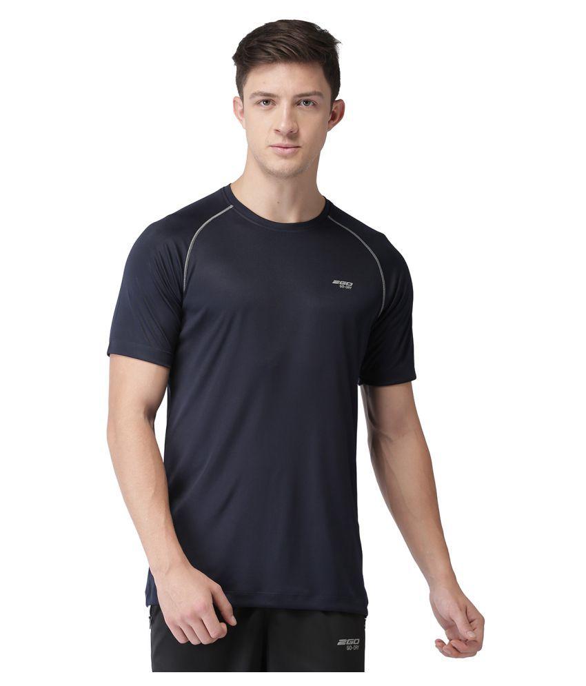 2GO Blue Round T-Shirt