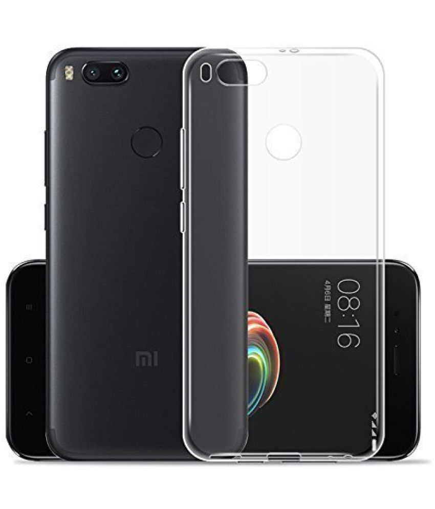 quality design f50bb 82873 Xiaomi MI A1 Plain Cases Tidel - Transparent