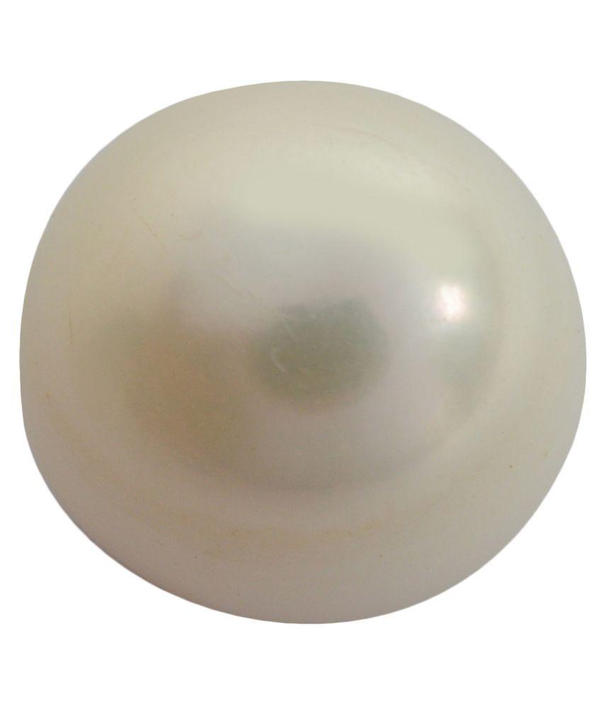 pitliya jewellers 4 -Ratti Self certified White Pearl Precious Gemstone