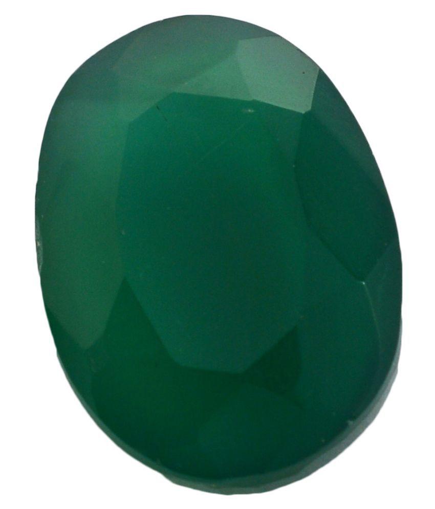 pitliya jewellers 9 -Ratti Self certified Green Onyx Semi-precious Gemstone