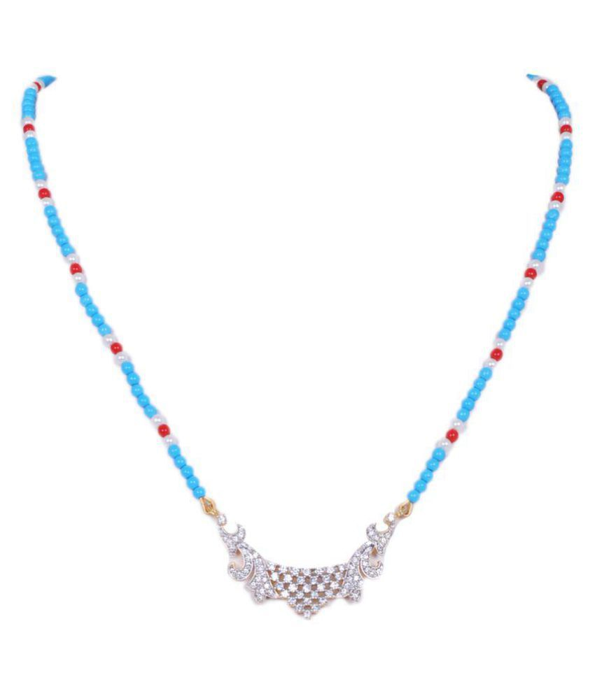 Gehna tanmaniya pendant attached with pearl, turquoise, coral beads