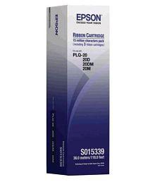 Epson Plq 20 Ribbon Black Ink Cartridge Pack of 3