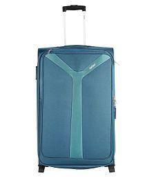 Safari Blue S (Below 60cm) Cabin Soft Safari Kayak BLUE 2W Small Trolley Luggage Bag Luggage