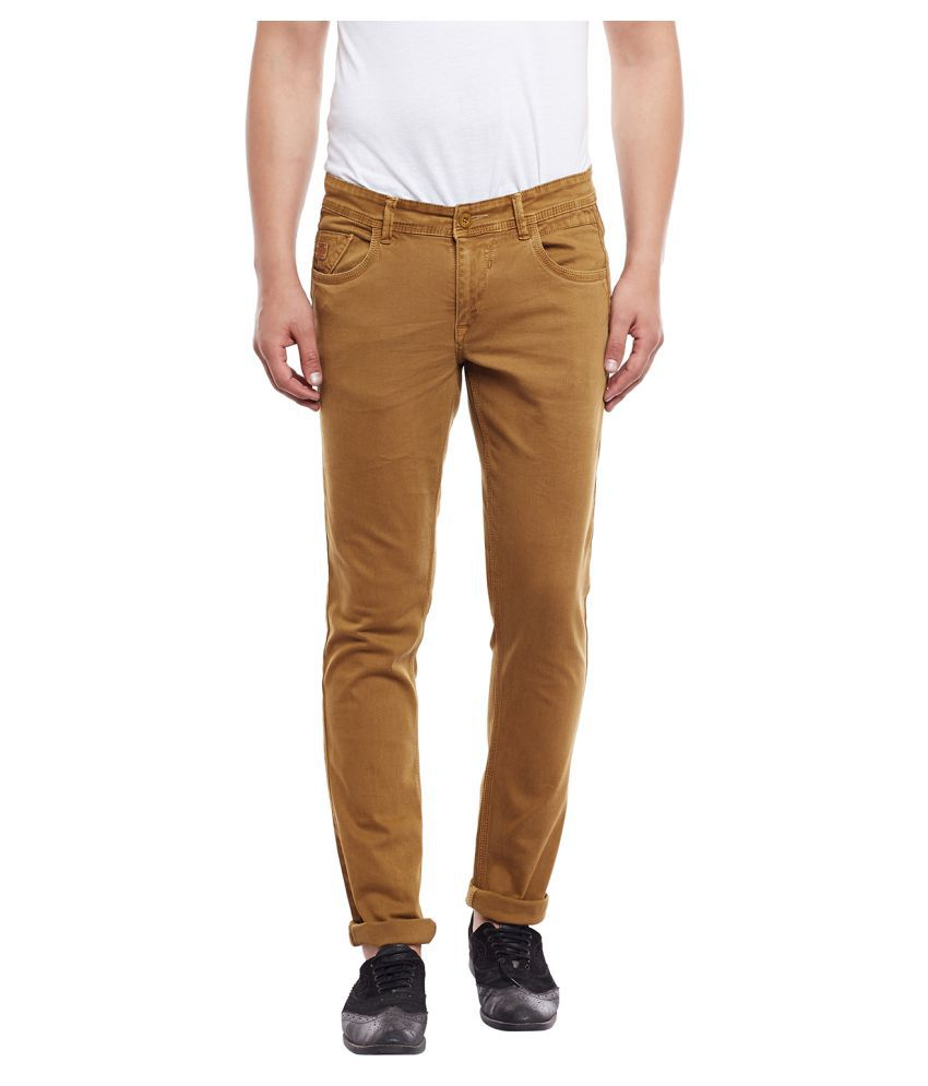 Canary London Khaki Skinny Jeans