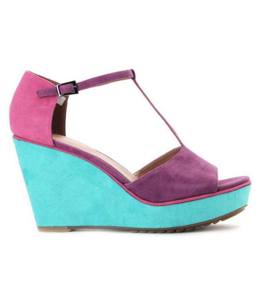 e34cd4c1b50 Clarks purple wedges heels price in india buy clarks purple wedges jpg  850x995 Purple pink wedges