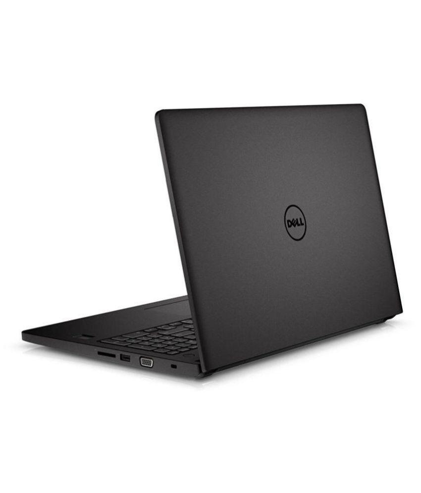 Dell Latitude 3560 Notebook Core i3 (5th Generation) 4 GB 39.62cm(15.6) Windows 10 Pro Not Applicable Black