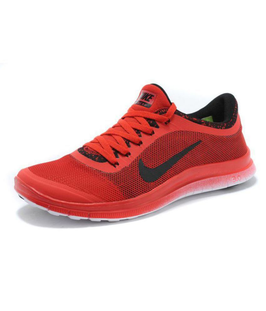 Nike 1 3.0 RED Running Shoes