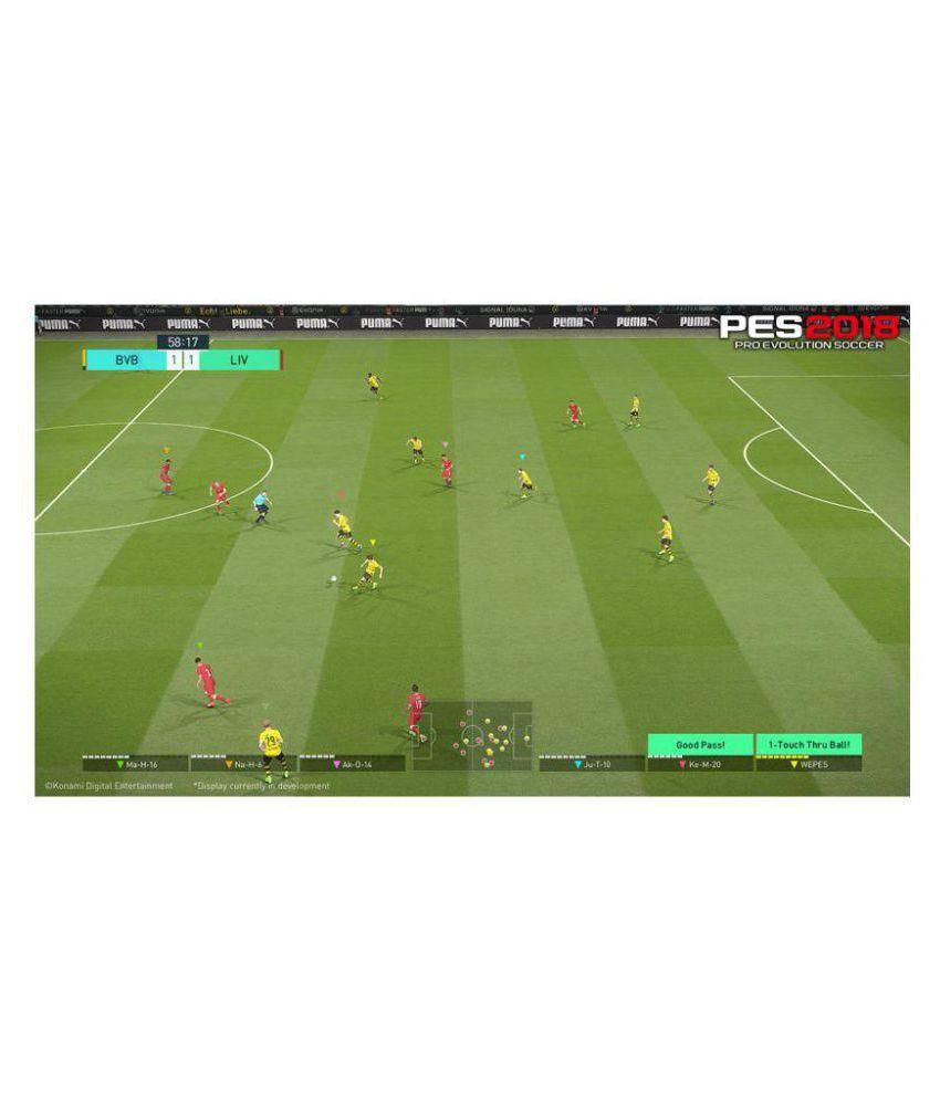 cc45d392ba0d0 Buy Pro Evolution Soccer 2018 Ps4 ( PS4 ) Online at Best Price in ...