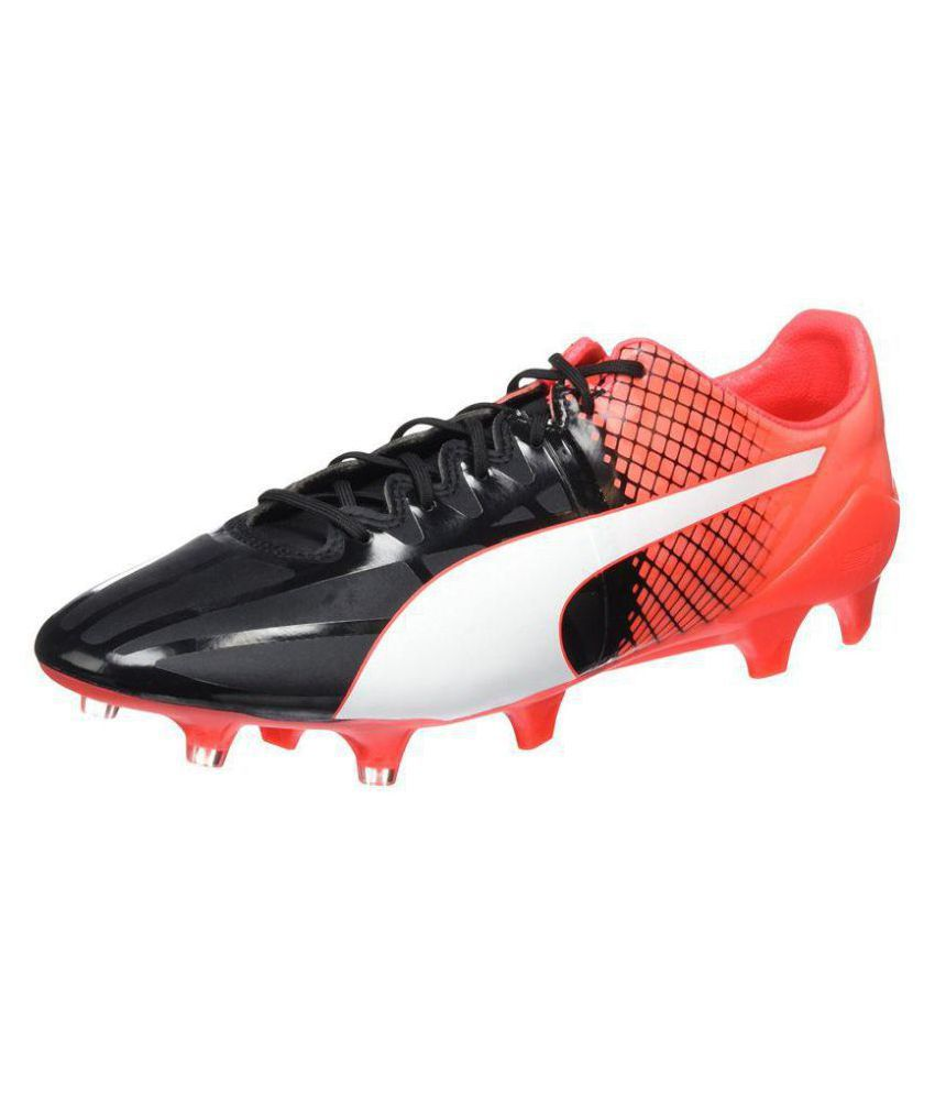 d29bcbd1f37 Puma Men s Evospeed 1.5 Fg Black Football Shoes - Buy Puma Men s ...