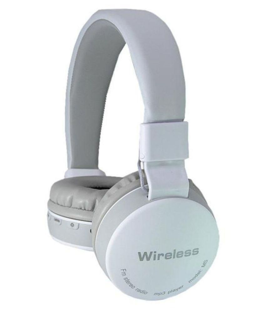 ... VSTECH MS-881A BluetoothFM/TF Card radio Over Ear Wireless Headphones With Mic