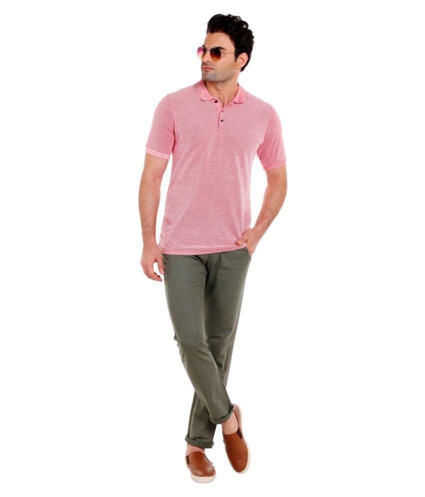 Numero Uno Green Slim -Fit Flat Trousers