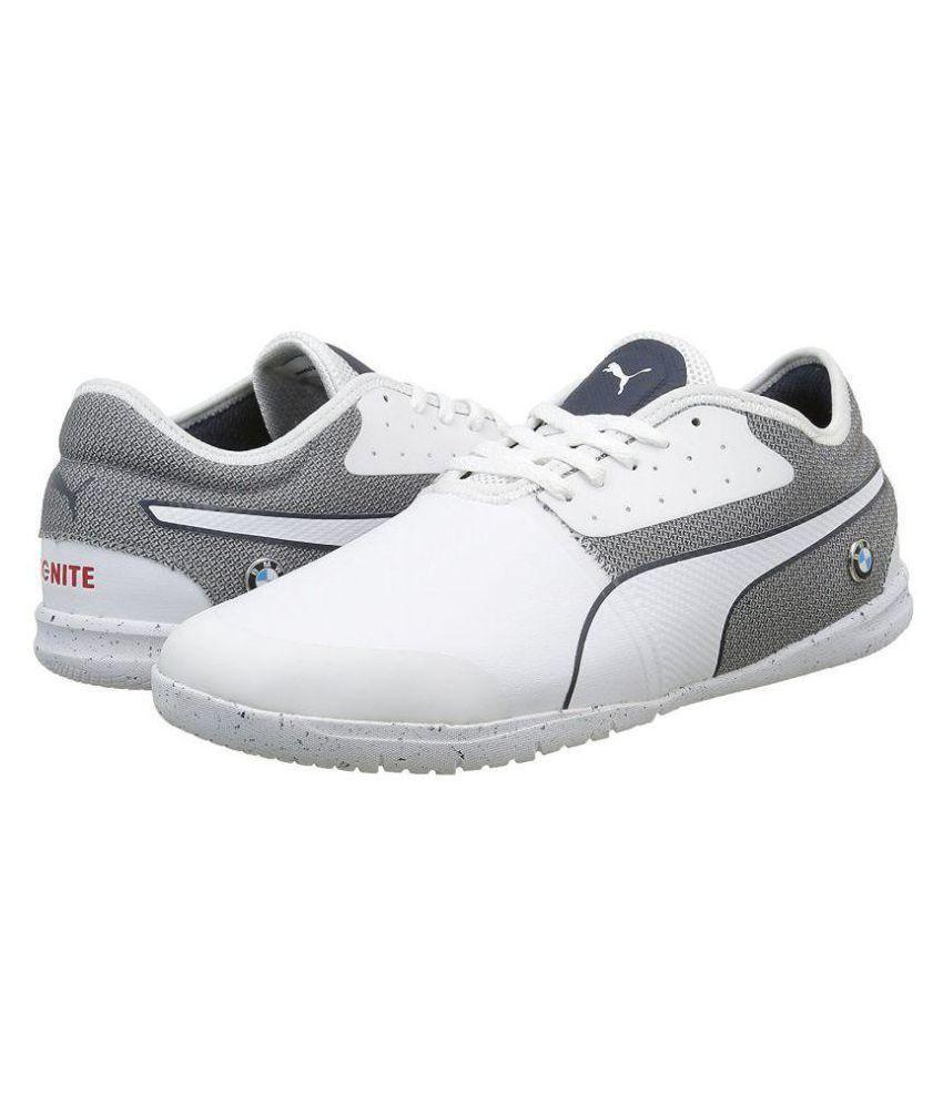 Puma Men s Bmw Ms Changer Ignite H2T Sneakers White Casual Shoes - Buy Puma  Men s Bmw Ms Changer Ignite H2T Sneakers White Casual Shoes Online at Best  ... 3ddbfacab5b