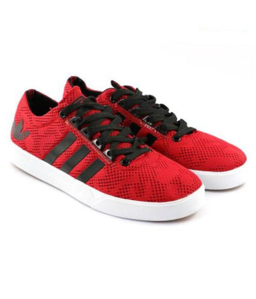 finest selection e9956 37d53 Adidas Neo 2 Skateboard Sneakers Red Casual Shoes - Buy Adidas Neo 2  Skateboard Sneakers Red Casual Shoes Online at Best Prices in India on  Snapdeal