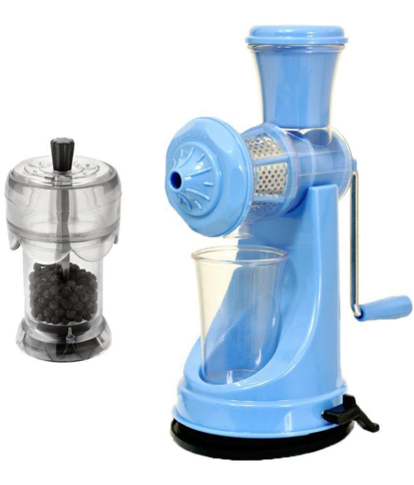 PREMILLIA HAND JUICER BLUE COMBO WITH PEPPER GRINDER: Buy Online at ...