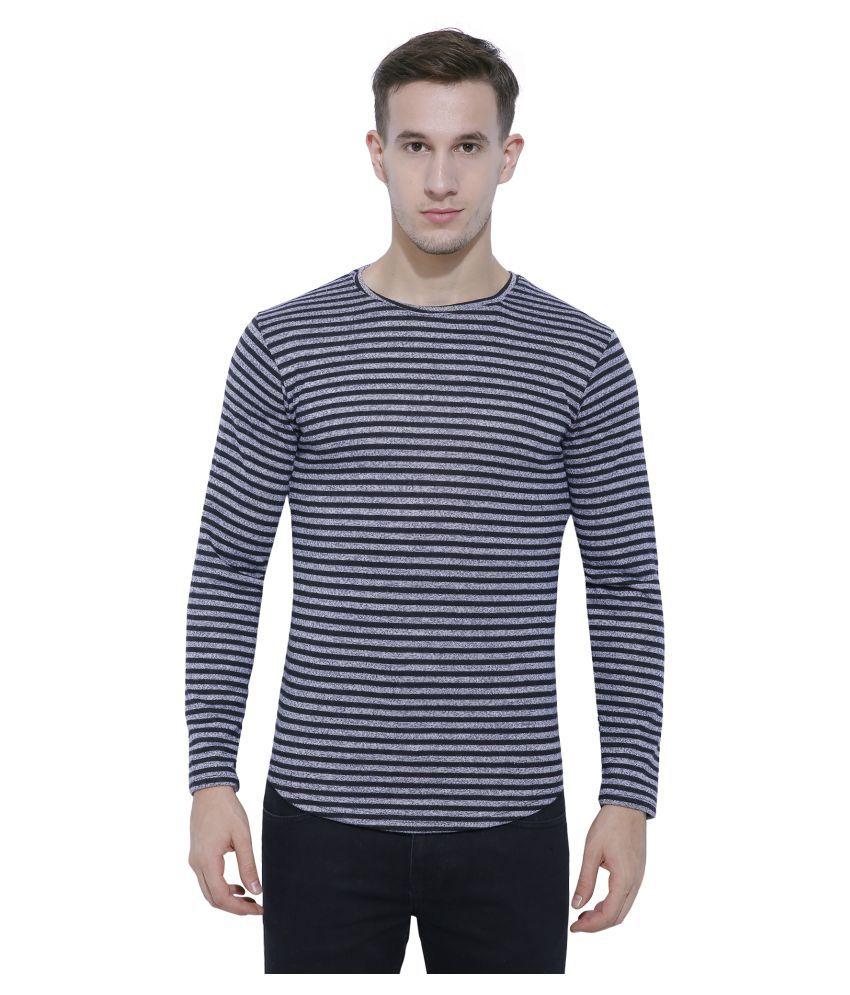 Ash&roh Grey Round T-Shirt