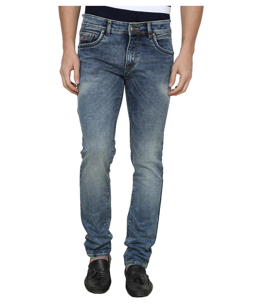 La Mode Blue Relaxed Jeans