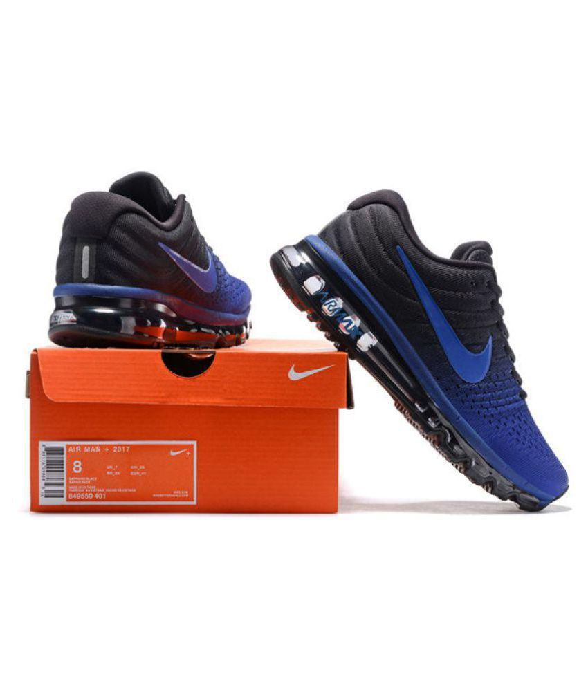 Eficiente mariposa sal  Nike Air Max 2017 Limited Edition Blue Running Shoes - Buy Nike Air Max  2017 Limited Edition Blue Running Shoes Online at Best Prices in India on  Snapdeal
