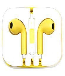 TECHNUV NA Ear Buds Wired Earphones With Mic