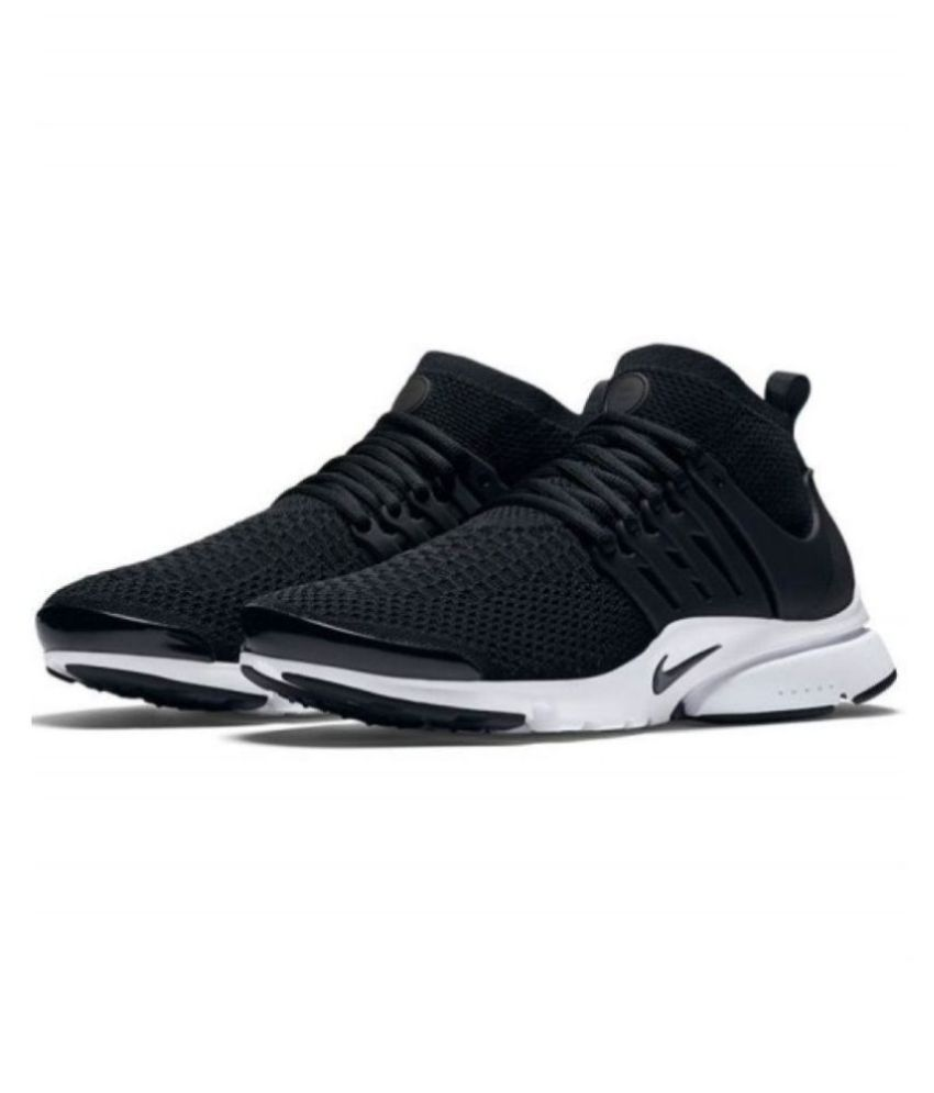 Nike Air Presto Flyknit Black Running Shoes
