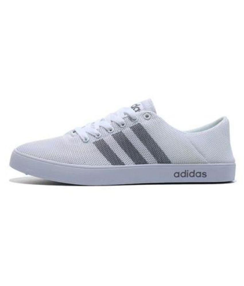 retail prices shop high fashion Adidas NEO 1 White Casual Shoes