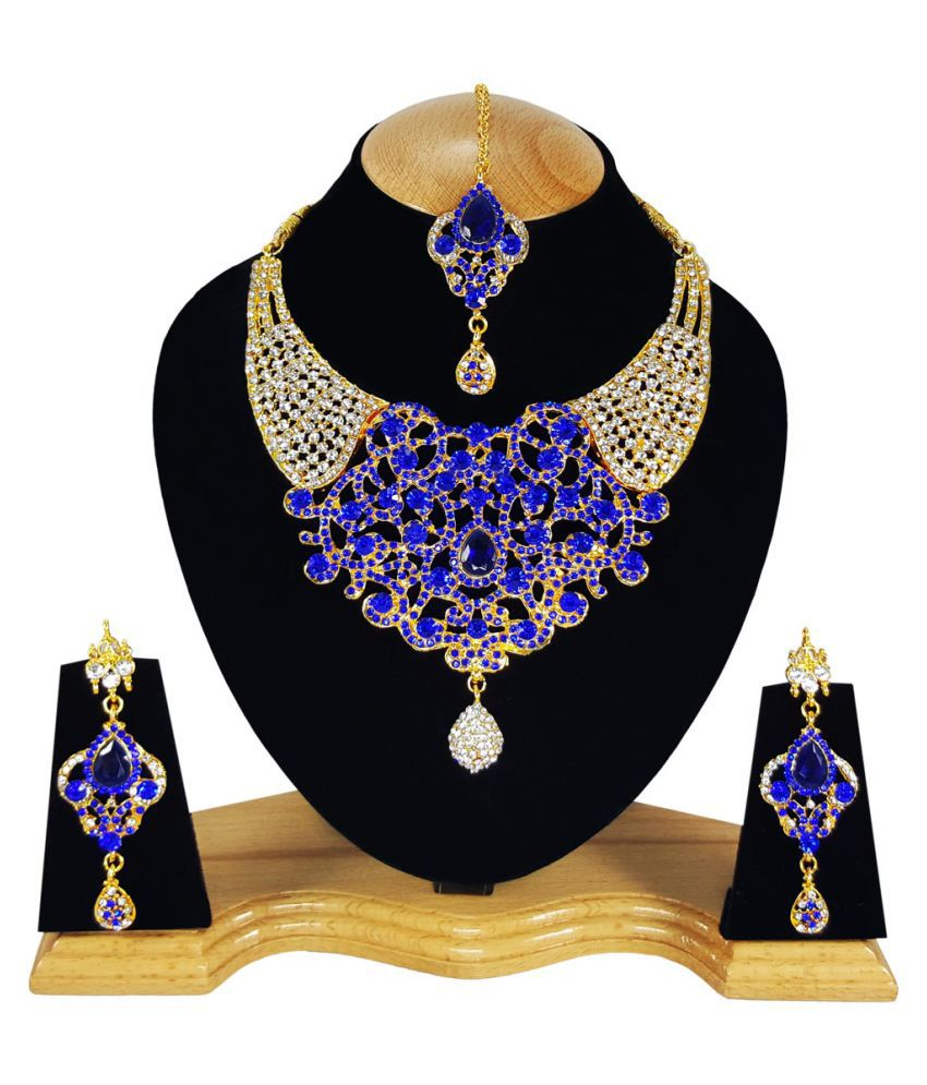 Kundan Zirconic Necklace Set