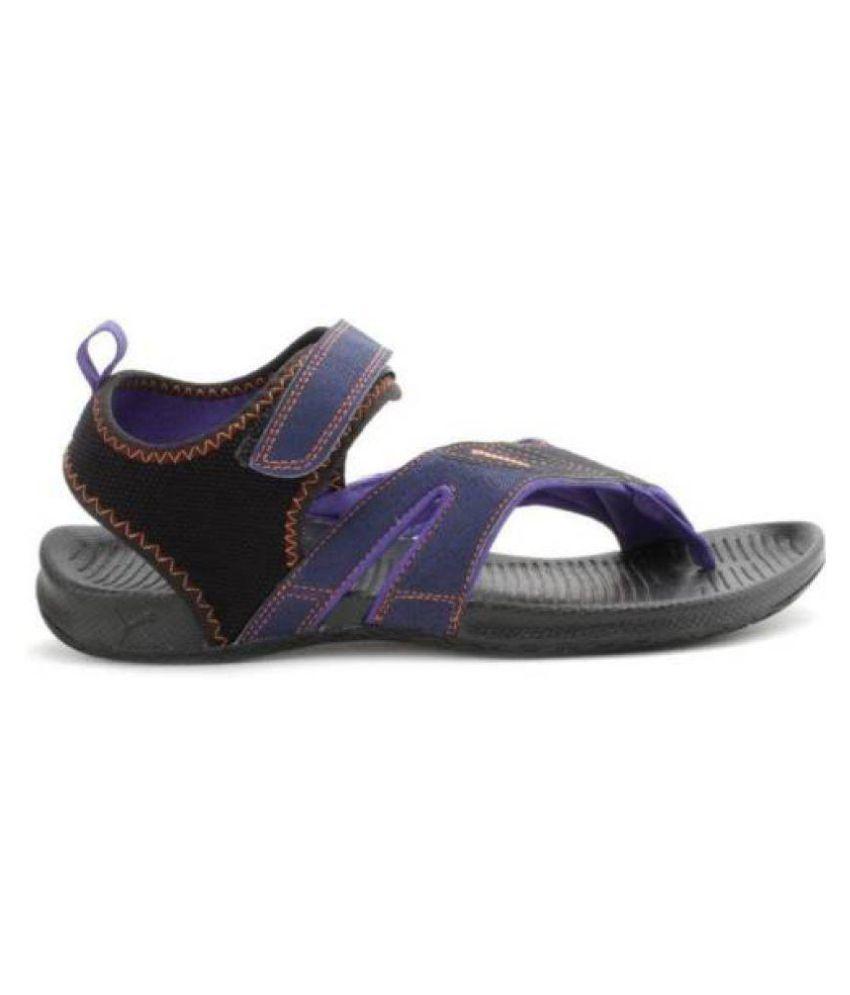 8f70ec581b67 Puma Jiff 5 Ind. Men Blue Floater Sandals - Buy Puma Jiff 5 Ind. Men ...