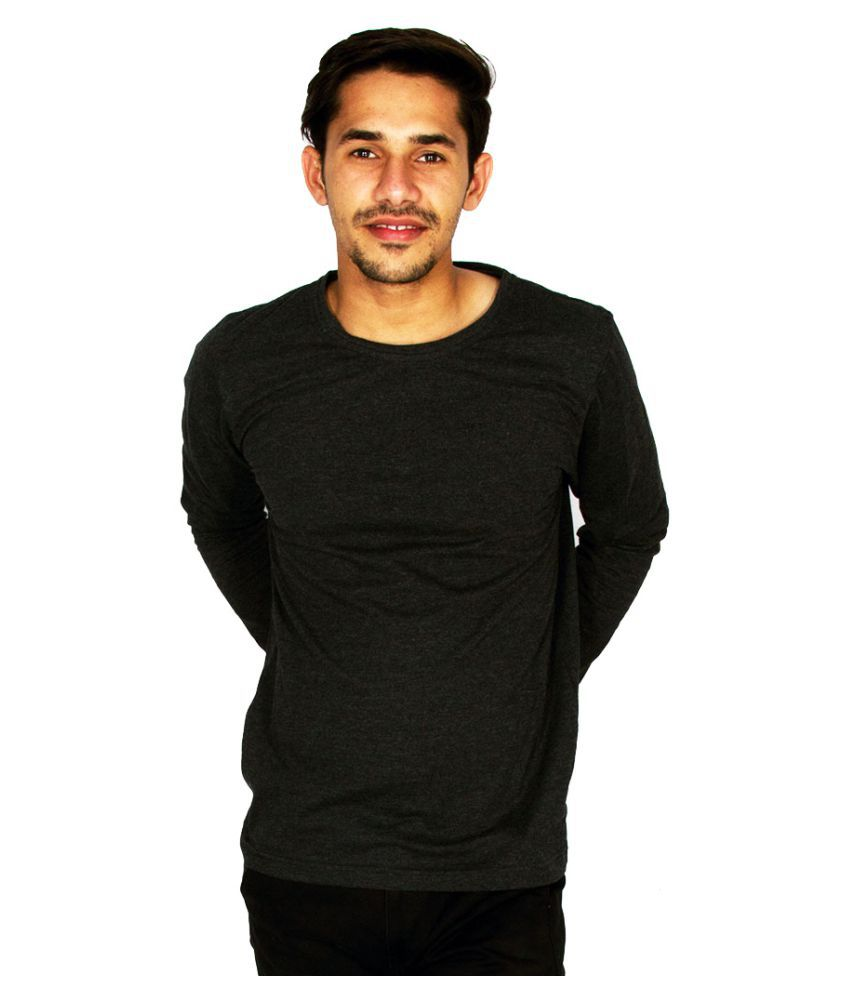 Hollane Fashion Ware Black Round T-Shirt