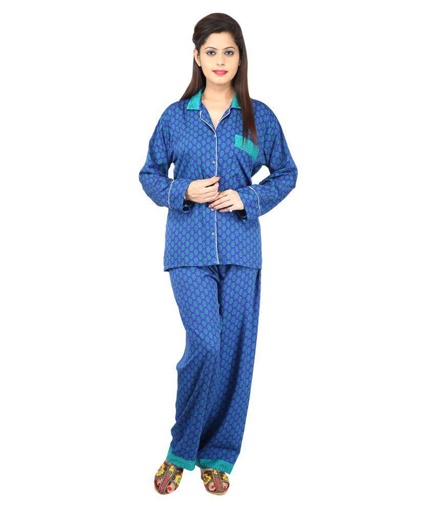 Yashodhara Fashion Polyester Nightsuit Sets