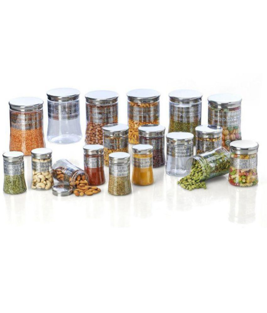 STEELO PET Spice Container Set of 11-20