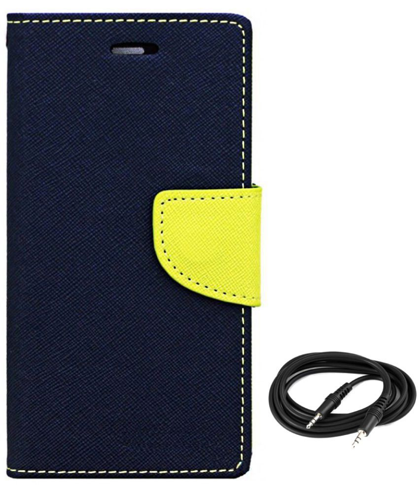 Asus Zenfone 2 Laser Cases with Stands Avzax - Blue