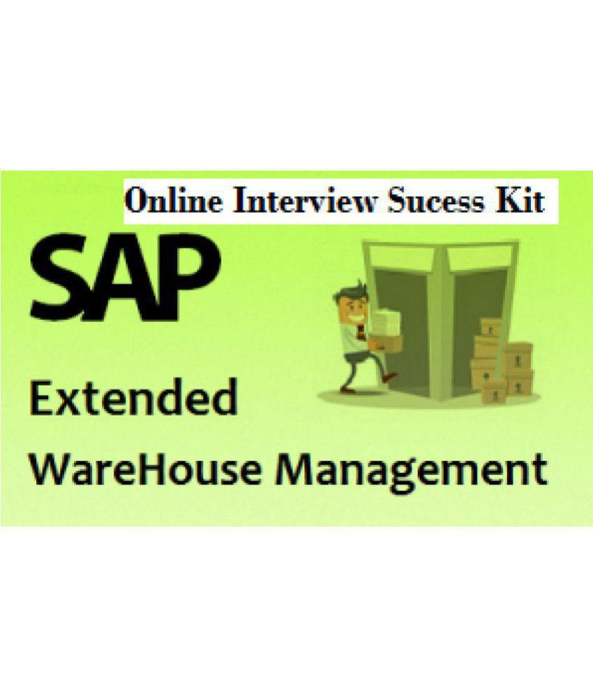 SAP EWM Online Interview And Methodology Expert (Self Video Learning ...