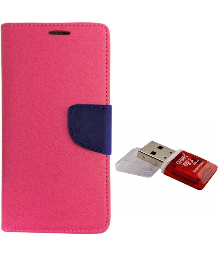Vivo Y18l Cases with Stands Avzax - Pink