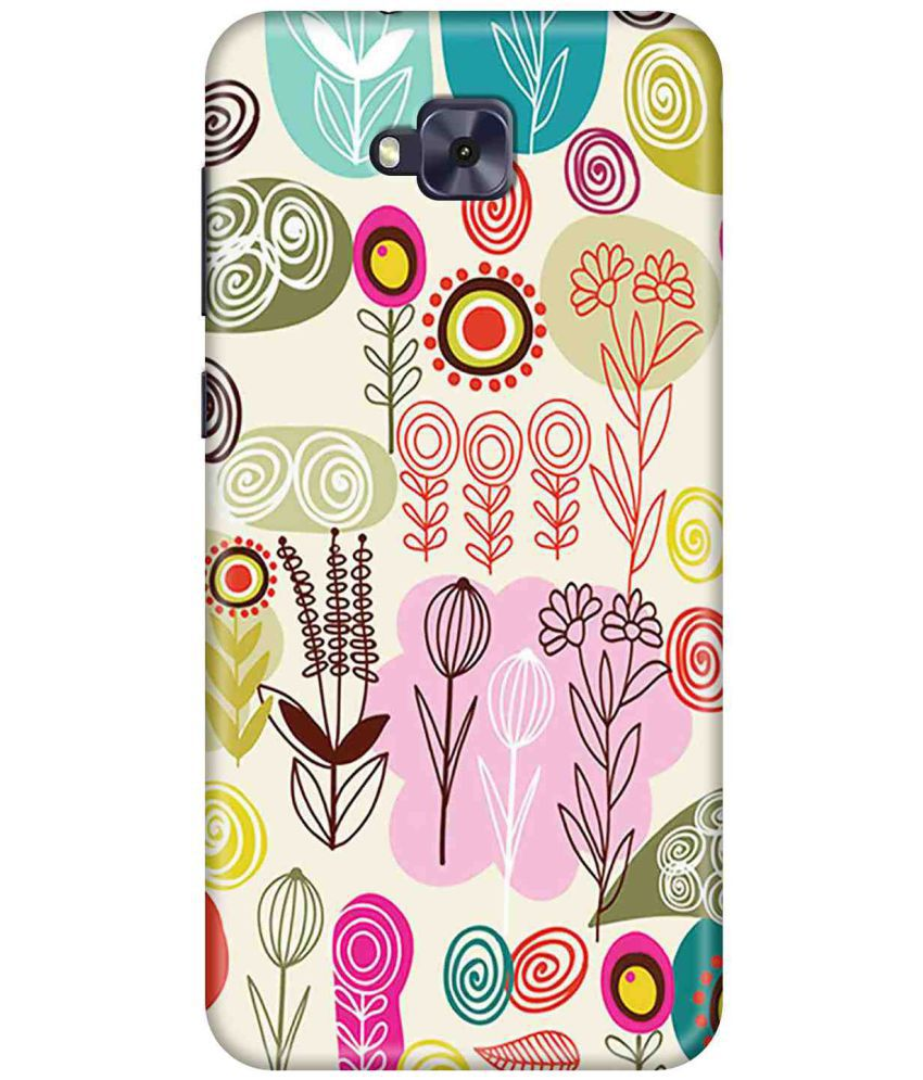 Asus Zenfone 4 Selfie Printed Cover By LOL