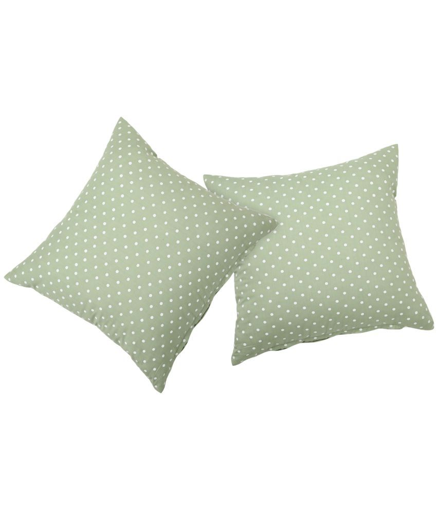 ROSARA HOME Set of 2 Polyester Cushion Covers 40X40 cm (16X16)