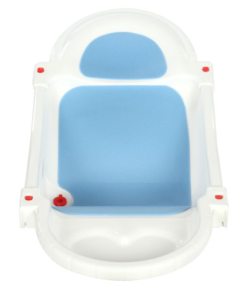 Mee Mee White Plastic Baby Bath Tub: Buy Mee Mee White Plastic Baby ...