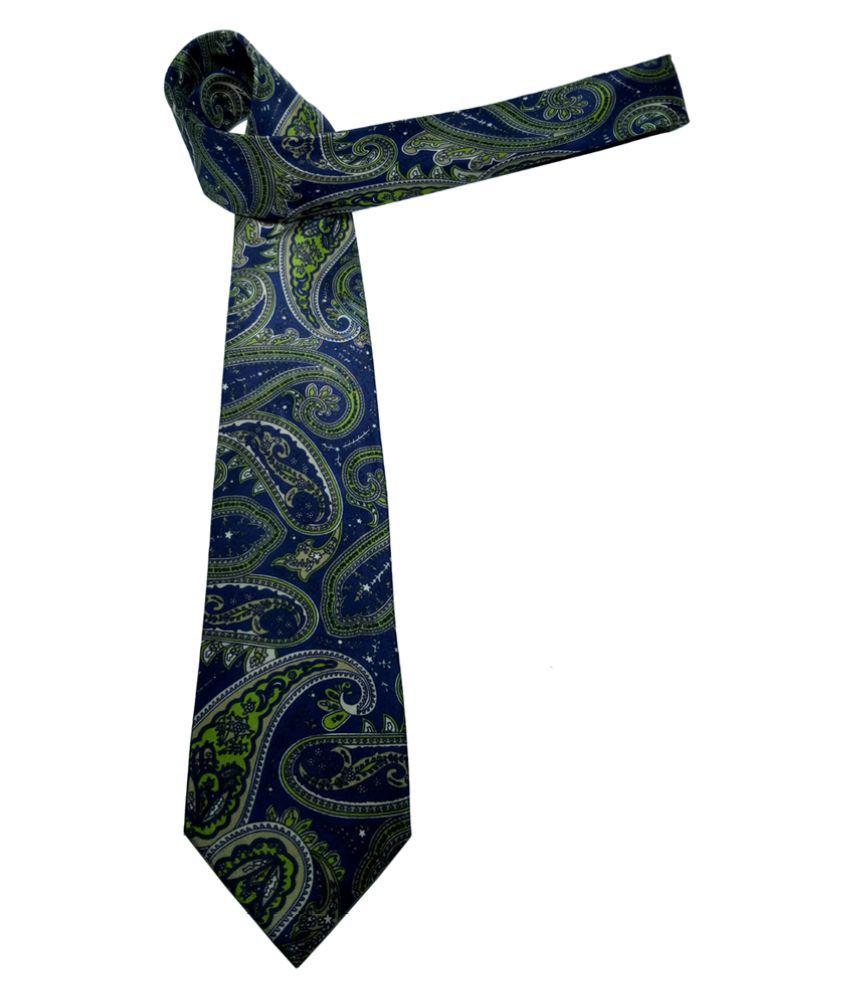Mentiezi Multi Printed Silk Necktie