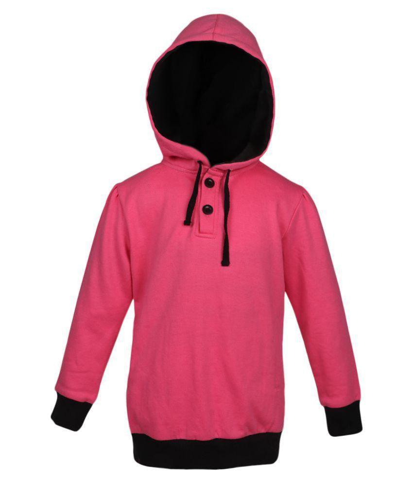 Pink Cotton SWEAT SHIRT