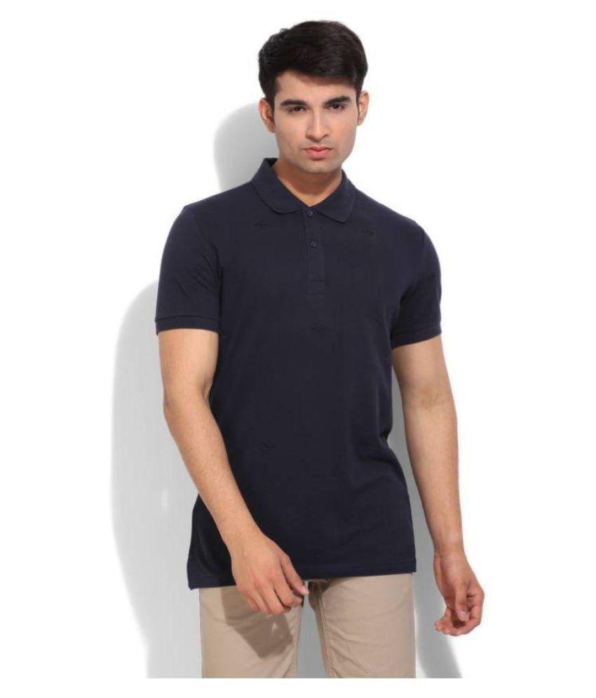 Adidas Navy Henley T-Shirt